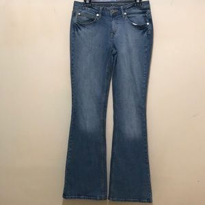 Arizona Jean Company Wide Leg Jeans Size 7
